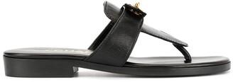Chanel Pre Owned CC logos Turn-lock motif sandals
