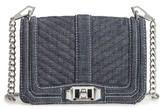 Rebecca Minkoff Small Love Denim Crossbody Bag - Blue