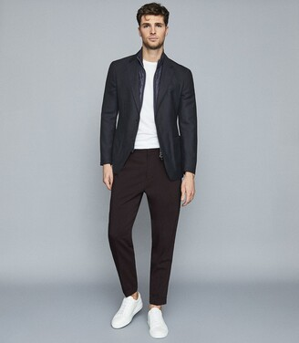 Reiss Oliver - Blazer With Removable Insert in Navy