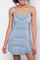 Everly Paisley Print Dress