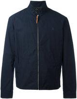 Polo Ralph Lauren band collar zipped jacket - men - Cotton/Nylon - M