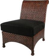 One Kings Lane Slipper Chair, Coffee