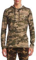 Balmain Camouflage Cotton Hoodie