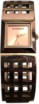 Burberry Silver Steel Watches