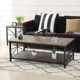 Van Winkle Coffee Table With Storage Ebern Designs