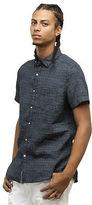 Kenneth Cole Tribal Print Short-Sleeve Button-Down Shirt