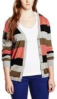 Sheego Women's Long Sleeve Cardigan - Multicoloured -