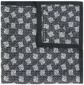 Lanvin dot pattern pocket square