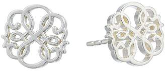 Alex and Ani Post Earrings - Path of Life (Sterling Silver) Earring