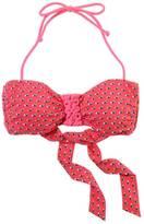 aerie Macrame Printed Bandeau Bikini Top