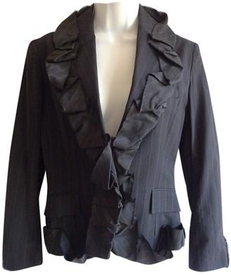 Issey Miyake Black Cotton Jacket for Women Vintage