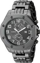 August Steiner Men's AS8140BK Analog Display Swiss Quartz Watch