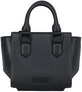 KENDALL + KYLIE Mini Brook Smooth Leather Top Handle Bag