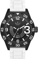 adidas Men's Newburgh Chronograph Silicone Strap Watch