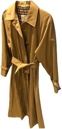 Aquascutum London Camel Cotton Coat for Women Vintage
