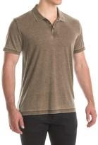 Lucky Brand Venice Burnout Polo Shirt - Short Sleeve (For Men)