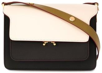 Marni Trunk tricolour shoulder bag