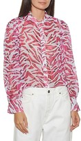 Thumbnail for your product : Equipment Chayce Printed Silk Shirt