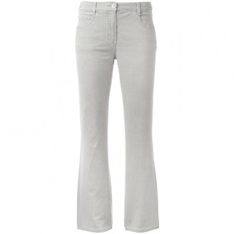 Chanel Grey Cotton - elasthane Jeans for Women Vintage