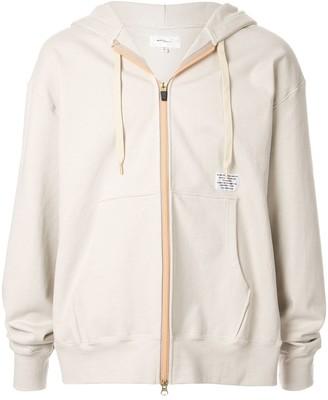 Makavelic Luminous zipped hoodie
