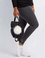 Charlotte Russe Plus Size Stretch Leggings