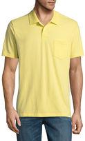 ST. JOHN'S BAY St. John's Bay Easy Care Quick Dry Short Sleeve Jersey Polo Shirt