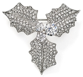 Nadri Jolly Mistletoe Pin