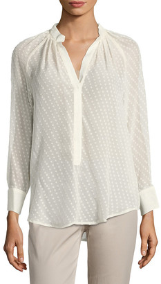 Tracy Reese Henley Peasant Shirt