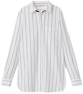 Lafayette 148 New York Ruxton Pinstripe Shirt