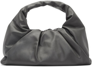 Bottega Veneta Grey Small Shoulder Pouch Bag