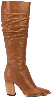 Officine Creative Alexane ruched boots