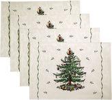 Avanti Spode Christmas Tree Set of 4 Placemats