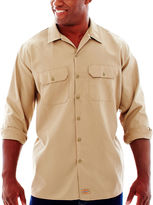 Dickies Long-Sleeve Work Shirt - Big & Tall