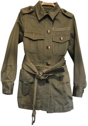 Marc Jacobs Khaki Cotton Coats