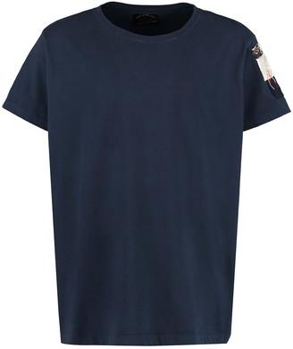 Paul & Shark Paul&Shark Embroidered Cotton T-shirt