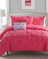 Victoria Classics CLOSEOUT! Jana Reversible 4-Piece Twin Comforter Set