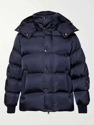 Moncler Genius 7 Fragment Falcon Quilted Printed Nylon Hooded Down Jacket