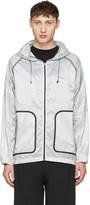 Isaora Grey Xytlite Running Windbreaker Jacket