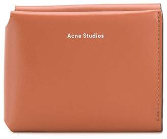 Acne Studios tri-fold card wallet