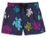Vilebrequin Baby's, Toddler's & Little Boy's Turtle-Print Swim Trunks