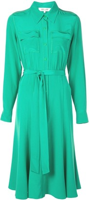 Dvf Diane Von Furstenberg Belted Shirt Dress