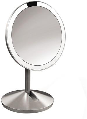 Simplehuman 12cm Sensor Mirror - Brushed Steel