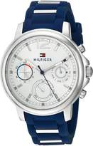 Tommy Hilfiger Women's 1781746 CLAUDIA Analog Display Quartz Blue Watch