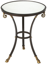 Butler Specialty Company Butler Meurice Glass and Metal Accent Table