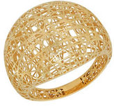 Lord & Taylor 14K Yellow Gold Mesh Ring