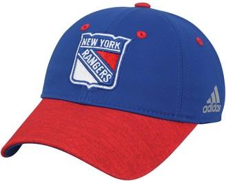 adidas Women's Blue/Red New York Rangers Unstructured Alpha Adjustable Hat