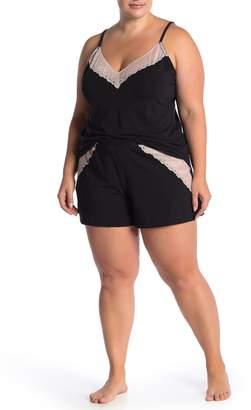Cosabella Ferrara Lace Trim Sleep Boxers (Plus Size)