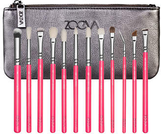 Zoeva Pink Elements Complete Eye Brush Set