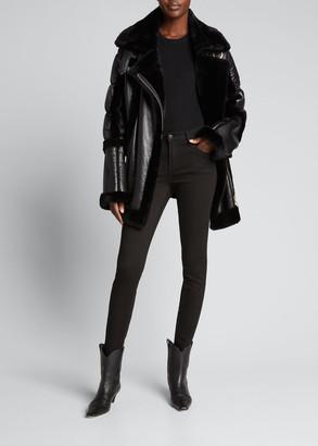 Nicole Benisti Montmartre Shearling Puffer Jacket