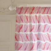 Minted Brushed Herringbone Curtains